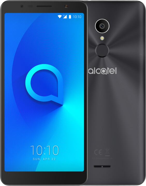 ALCATEL 3C 5026D, černá