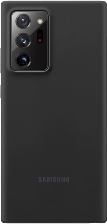 Samsung silikonový kryt Samsung Galaxy Note20 Ultra, černá