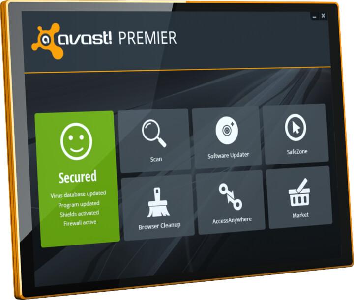 Avast! Premier, 5 uživatelů (12 měs.) prodloužení