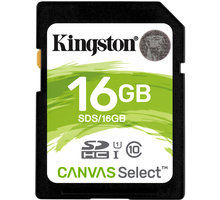 Kingston SDHC Canvas Select 16GB 80MB/s UHS-I