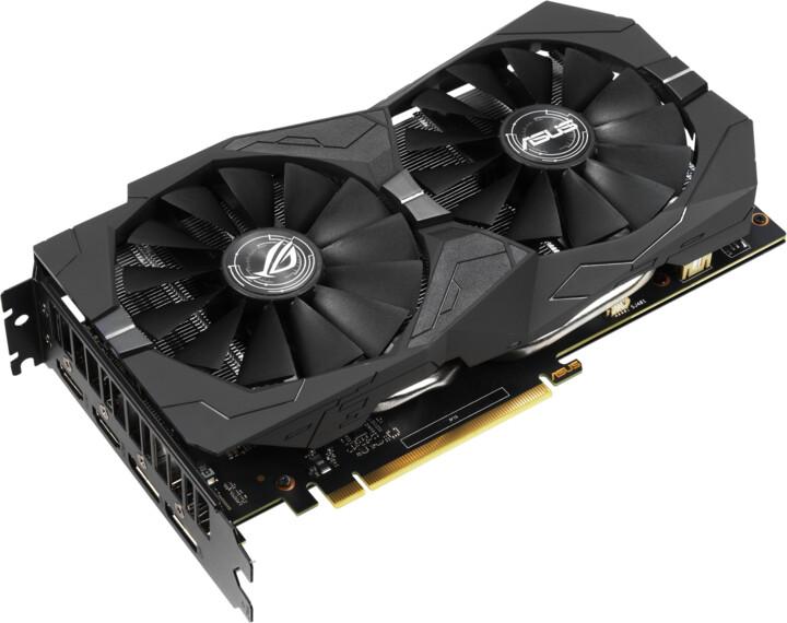 ASUS GeForce ROG-STRIX-GTX1650-O4G-GAMING, 4GB GDDR5
