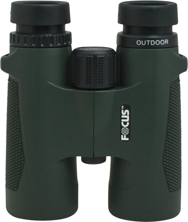 Focus Outdoor 8x42, zelený