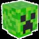 Lampička Minecraft - Creeper