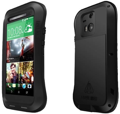 Love Mei Case HTC M8 Three anti protective shell