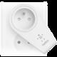 Belkin USB 230V nabíječka otočná BOOST UP, 5V/2.4A, bílá, vč.zásuvky