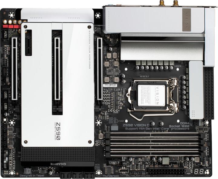 GIGABYTE Z590 VISION D - Intel Z590