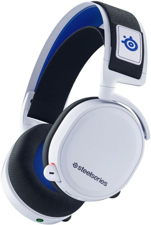 SteelSeries Arctis 7P, bílá