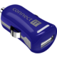 CONNECT IT InCarz COLORZ auto adaptér 1xUSB 2,1A, modrá (V2)