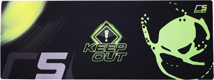 Keep Out R5 podložka pod myš, látková