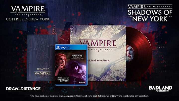 Vampire: The Masquerade - Coteries of New York + Shadows of New York - Collectors Edition (PS4)
