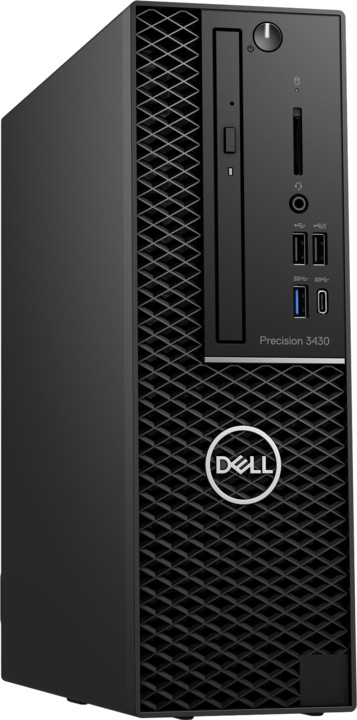 Dell Precision 3430 SFF, černá