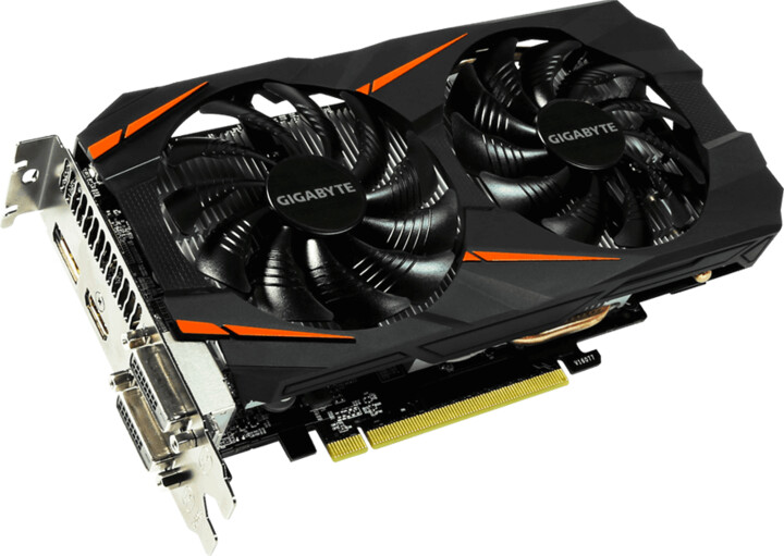 GIGABYTE GeForce GTX 1060 Windforce 6G, 6GB GDDR5