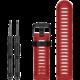 ESES silikonový řemínek dírkovaný pro Garmin Fenix 3/5x/5x plus/5x sapphire/3hr, červená