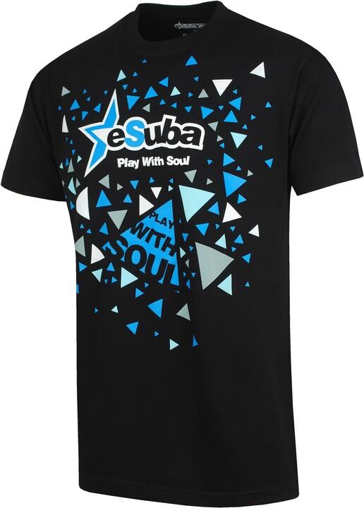 eSuba designové tričko (M)