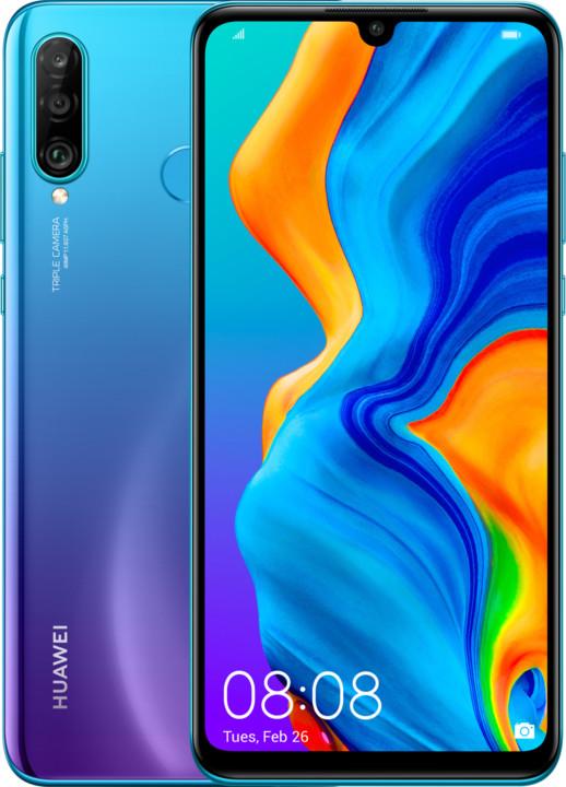 Huawei P30 Lite, 4GB/128GB, modrá