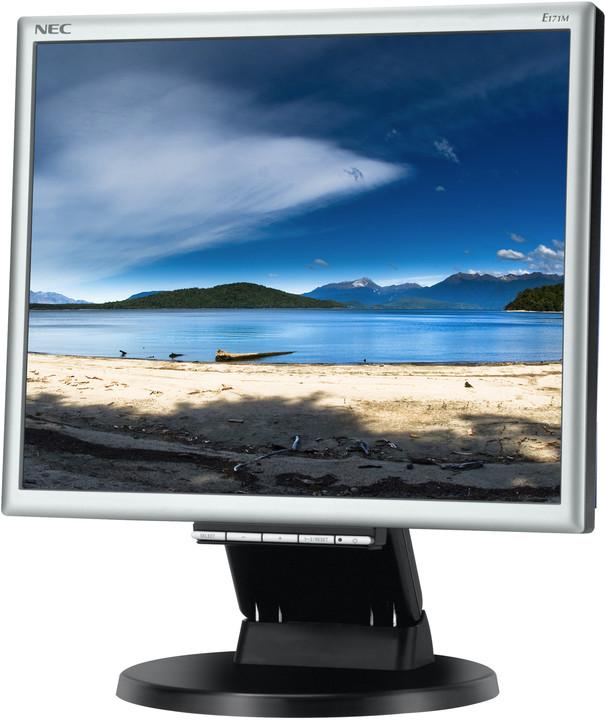 "NEC MultiSync E171M, černá - LED monitor 17"""