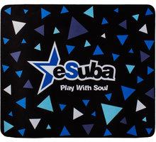 eSuba herní podložka L, látková - 412885143053