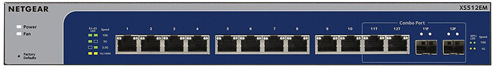 NETGEAR XS512EM Smart Managed Plus Switch