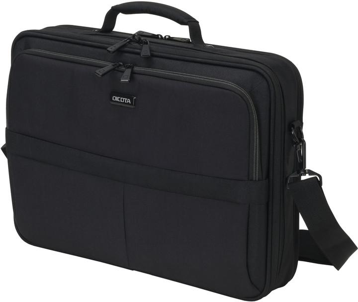 """DICOTA SCALE Multi Plus - Brašna na notebook - 15.6"""" - černá"""
