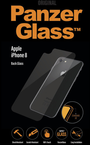 PanzerGlass Standard pro Apple iPhone 8, čiré