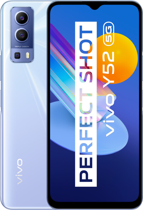 vivo Y52 5G, 4GB/128GB, Polar Blue