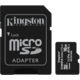 Kingston Micro SDHC Canvas Select Plus 16GB 100MB/s UHS-I + adaptér