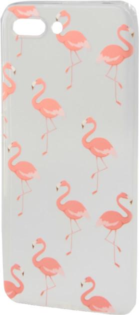 EPICO pružný plastový kryt pro Huawei Y6 Prime (2018), pink flamingo