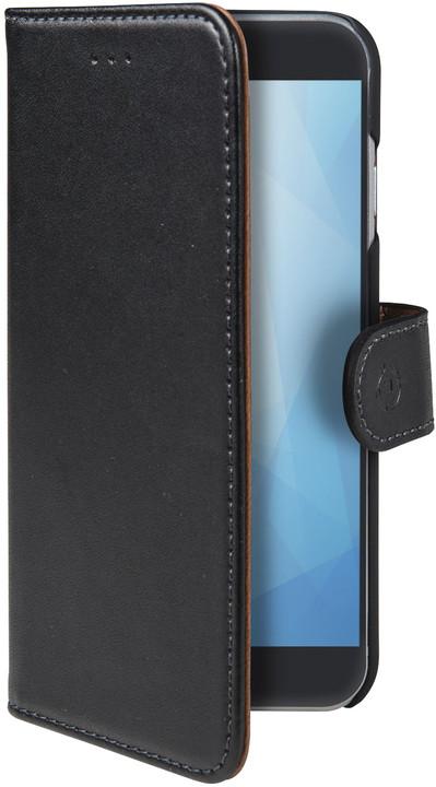 CELLY Wally pouzdro typu kniha pro Samsung Galaxy A6 (2018), černé