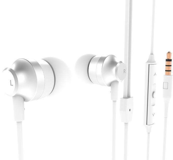 Nokia Stereo Earphones WH-201, bílá