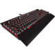 Corsair Gaming K70 LUX, RED LED, Cherry MX Brown, CZ
