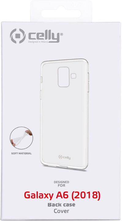 CELLY pouzdro TPU pro Samsung Galaxy A6 (2018)