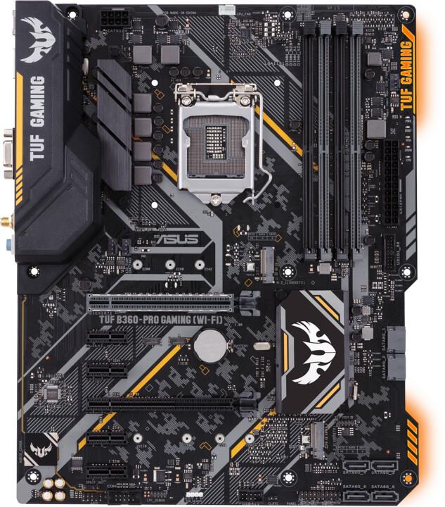ASUS TUF B360-PRO GAMING (WI-FI) - Intel B360