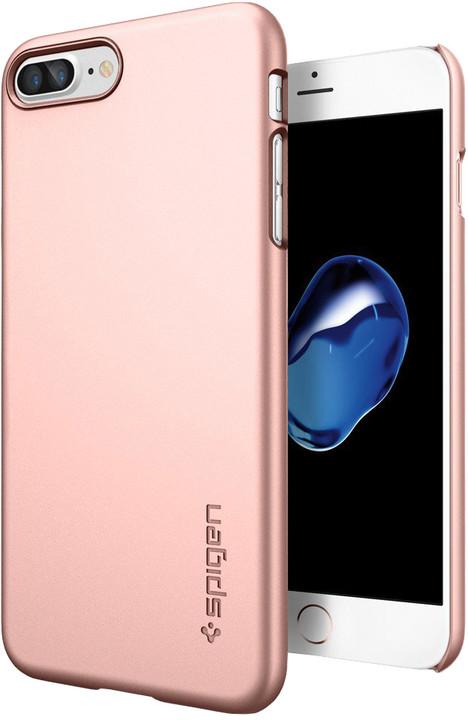 Spigen Thin Fit pro iPhone 7 Plus, rose gold