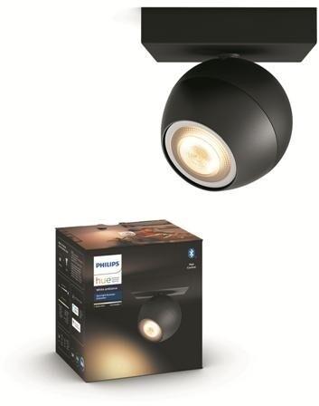 Philips Hue White Ambiance Bodové svítidlo Buckram BT 50471/30/P9 černé