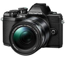 Olympus E-M10 Mark III + 14-150mm, černá  + objektiv Olympus M. ZUIKO DIGITAL 45mm f/1.8, černá v hodnotě 8 499 Kč