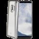 CELLY Laser TPU pouzdro - lemování s matným kovovým efektem pro Samsung Galaxy S9, stříbrné
