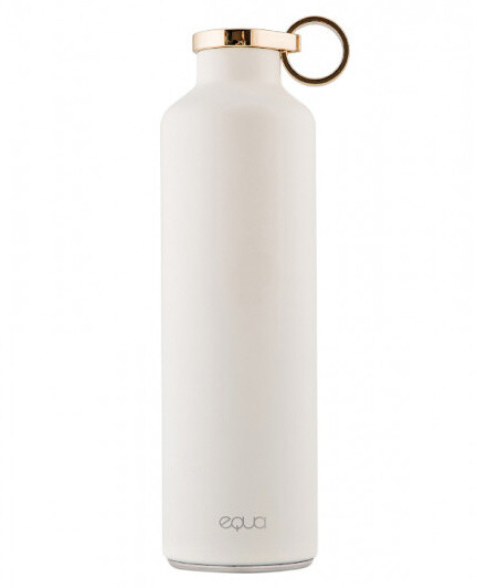 Equa Smart chytrá nerezová lahev, bílá