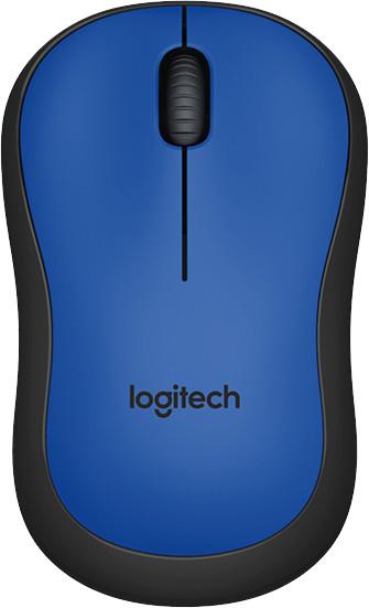 Logitech M220 Silent, modrá