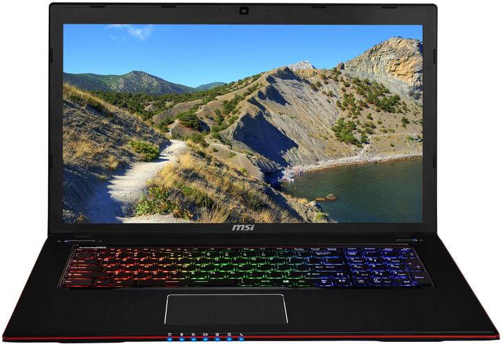 MSI GE70 2PE-082XCZ Apache Pro, černočervená