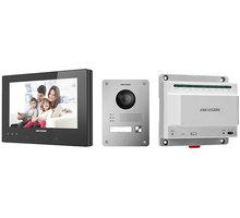 Hikvision DS-KIS701/EU-W Sada dvoudrátového interkomu Elektronické předplatné časopisu Reflex a novin E15 na půl roku v hodnotě 1518 Kč