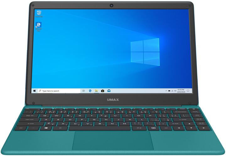 Umax VisionBook 13Wr, zelená