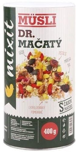 Mixit müsli Dr. Mačatý - ořechy/ovoce/zelený čaj, 400g