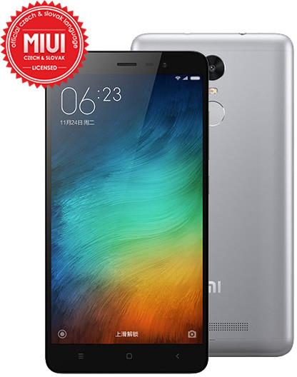 Xiaomi Note 3 PRO - 32GB, Global, šedá