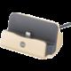 Forever nabíjecí stojánek TFO pro Apple Iphone 5/6, zlatý