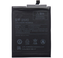 Xiaomi BN40 baterie 4100mAh pro Xiaomi Redmi 4 (Bulk) - 2434792