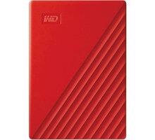WD My Passport - 4TB, červená - WDBPKJ0040BRD-WESN