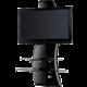 Meliconi 488064 GHOST DESIGN 2000 Držák a stolek pro TV, černá