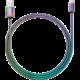 YENKEE YCU 251 nabíjecí kabel Micro USB, nerezová ocel, 1m