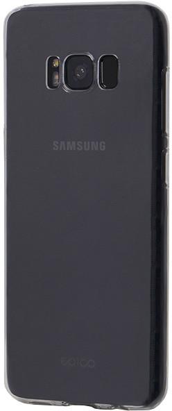 EPICO RONNY GLOSS pružný plastový kryt pro Samsung Galaxy S8+ - bílý transparentní