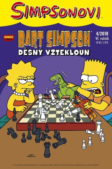 Komiks Bart Simpson: Děsný vztekloun, 4/2018
